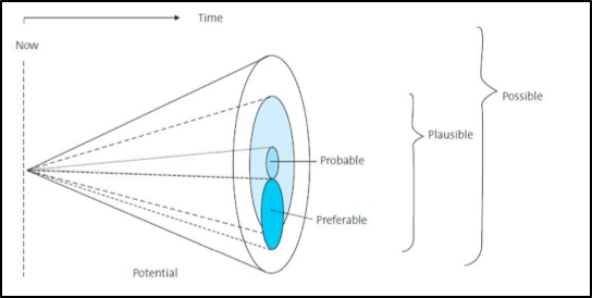 Cone of plausibility - strategic planning models