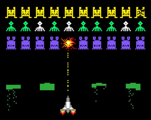 Cacophony Revisited … And you thought Space Invaders was an arcade game from the 1980s.
